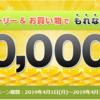 【もれなく30円!】ECナビのキャンペーンエントリー&お買い物でもれなく300ポイント案件が熱い!【抽選でさらに100円~1000円!】