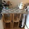 【DIY】IKEAの999円の丸椅子を組み合わせてキッチンの作業台を作る【セルフリノベーション】