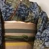 コシノヒロコのウール着物コーデ