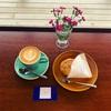 タイボーコーヒー&ジェラートソフトさんの素晴らしい窓際席。