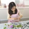 Yちゃんお盆のお供えの花制作&お盆のお供えの花のお知らせ (プリザーブドフラワーハートローズ)