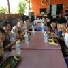 ガヤン村で昼食