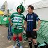 ガンバ大阪のユニホーム着てサンプロアルウィン行ったら、ちょっとチヤホヤされた