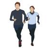 休日のリフレッシュ✨美容と健康のために走るカップル