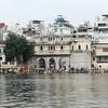 湖畔の宮殿都市、インドのウダイプル