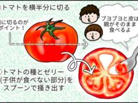 離乳食用のトマトペースト作り。労力に見合わないこと気づいた結果… by まる美