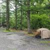 上高地・小梨平ソロキャンプ 今年2021年度 夏季の小梨平キャンプ場 テント泊は完全予約制になりましたのでご注意を