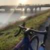 本日のライド 江戸川宝珠花橋まで往復〜利根川 利根川橋まで往復107km