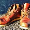 レッドウイングのブーツは修理とメンテナンスで経年変化を楽しむもの