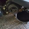 #バイク屋の日常 #ヤマハ #アクシスZ #オイル交換 #焼き付き