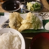 小田保で天ぷら盛合せ