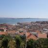 サン・ジョルジェ城から見渡すリスボン/7つの丘の街