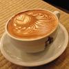 築地の「ターレットコーヒー」でターレットラテ。