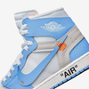 "【6月9日(土)発売】 ""OFF-WHITE × NIKE  AIR JORDAN 1 RETRO HIGH OG  DARK POWDER BLUE"""