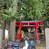 カブで近くの神社までカブ散歩