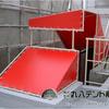 階段テント【ビルの屋上の階段にも!】