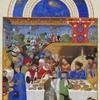 楽しい宴会風景の中世絵画ーどの時代でも楽しい皆での食事ー