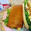 今日のごはん:6月20日のみはるごはんレシピ(リョーユーパンのパンのミミでサンドイッチ、オハヨーのジャージー牛乳プリンミルク)