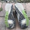 靴底の楪or槲現象? ~Yuzuriha or Oak leaf phenomenon sole of a shoe?