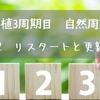【移植3周期目 自然周期】 D2 リスタートと更新
