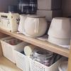 無駄なものを出して必要なものを収納したい「食器棚の改善をはじめます」