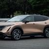 話題の新型クロスオーバーEV「アリア」 日産自動車