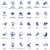 オリンピックスポーツのピクトグラム発表