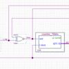 「チャタリング除去回路1 / 安定期間がチャタリング想定期間よりも長く続いたらレベルを確定する」のVHDL版