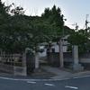 住吉神社にまつられる庚申塔 福岡県遠賀郡遠賀町若松