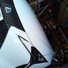 さいたま市からレクサスLC500ご来店!運転席レザーシートのサポート部のスレキズ補修のご注文!