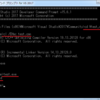 C++ / hello, world / clするときに/EHscオプションをつける。