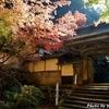 日本 谷汲横蔵寺の紅葉