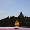 パオン寺院 ボロブドール遺跡 金の大仏に驚愕・・・ 2018ボロブドゥールその12