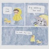 Artist Draws Wholesome Watercolor Comics Where A Cat Is Giving Out Mental Health Advice
