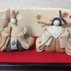 陶器の雛人形も、素敵だよ。