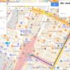 もう道に迷わない!Googleマップのマイプレイスで歩くルートをスマホに表示する