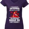Charming I was born in December My scars tell a story shirt