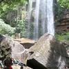 チャンボックの滝(Chambak Waterfall)。