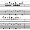 ニッチなギターテクニック練習研究(015): Sweep picking 攻略/3弦ブロック
