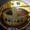 マルちゃん正麺カップ(東洋水産)濃厚とろ豚骨