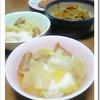 白菜の卵落とし 中華スープ煮