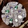 ゼンタングルZIA 花と宝石のゼンダラの描き方