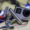 GoPro Hero 4に外部から給電する方法