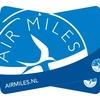"""貯まると得した気分!""""Air miles"""""""