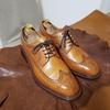 カルミーナの靴磨きと汚れ落としクロスの切り出し作業!!
