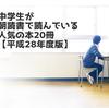 【おしらせ・引越し】中学生・高校生の朝読書によく読まれている本