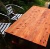 簡単すぎ!? 庭のガーデンテーブルを自作してみる