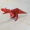 折り紙 アロサウルス