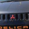 デリカD:5 三菱エンブレム(スリーダイヤ)のレッド化