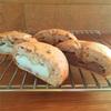 白あんパンと栗あんパン